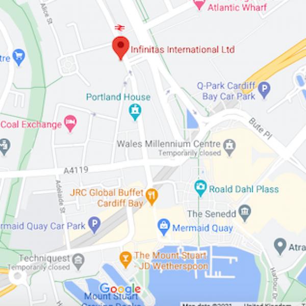 Infinitas International_Map